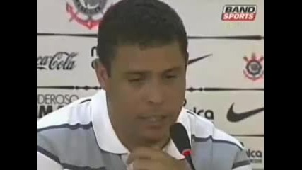 Роналдо се разплака на прощаване