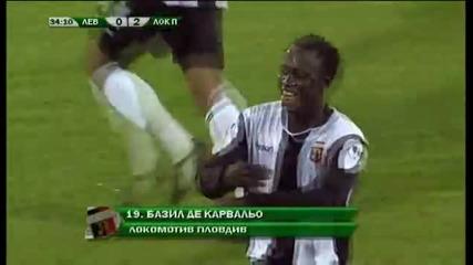 Левски 1:2 Локомотив Пд