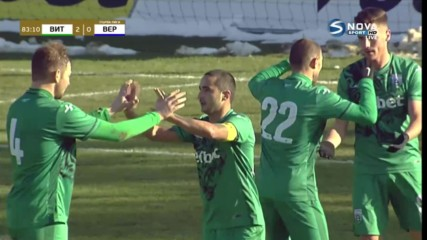 Четин Садула с втори гол срещу Верея