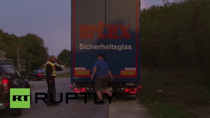 Germany: Controls imposed at Austrian border amid refugee influx