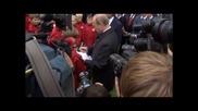 Путин инспектира новия стадион на Спартак
