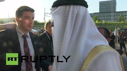 Принц Али напуска конгреса на ФИФА след поражението в президентските избори