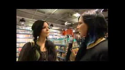 Интервю С Anette От Nightwish
