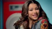 Първи Път В Сайта! Зендая и Бела - Contagious Love (shake It Up: I 3 Dance))
