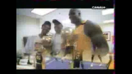 La Lakers Shaq And Kobe