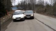 Епично съревнование между Volvo и Opel