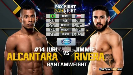 Iuri Alcantara vs Jimmie Rivera (ufc on Fx 18, 30.01.2016)
