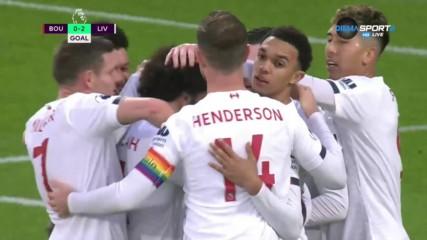 Магическа пета на Салах - втори гол за Ливърпул