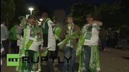 Берлин стана зелен, след като Волфсбург спечели първата си купа в историята