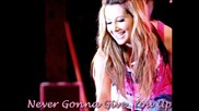 Ashley Tisdale - Never Gonna Give You Up