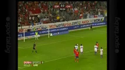 Испания - Чили 3:2