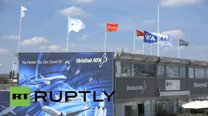 France: Paris Air Show 2015 kicks off in Le Bourget