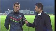 Хубчев: Политиката ни е да разчитаме на отбора