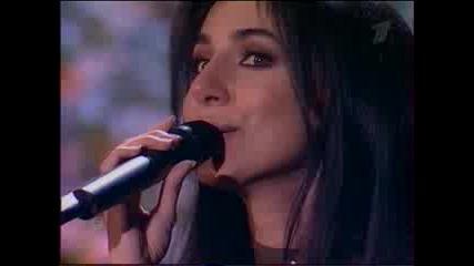 Певица Зара Алеша (концерт Песни Весны и Победы)