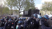 France: 'Yellow Vests' clash with police in protest against anti-rioting law