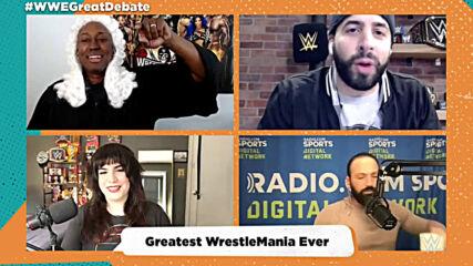 Greatest Mania Ever: Great WWE Debate
