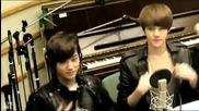120514 Exo Kai _ Sehun singing dancing to Sistar