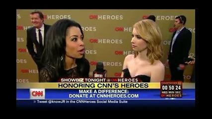 Emma Roberts - Cnn Heroes An All-star Tribute Presenting + Red Carpet Interview [emmarobertsbr_com]