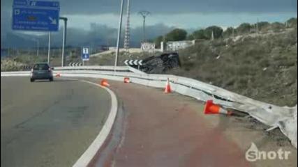 Камерата засне катастрофа :(