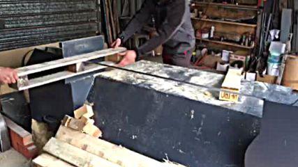 машина за разглобяване на палета