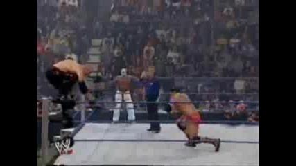 Smackdown Tag Team Champions ( Rey Mysterio & Batista) vs. Raw Tag Team Champions ( Big Show & Kane)
