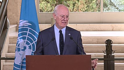 Switzerland: UN's de Mistura praises Russia for humanitarian push in Daraa