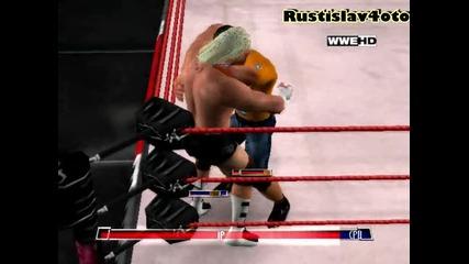 W W E - John Cena vs Dolph Ziggler