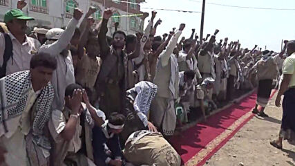 Yemen: Ceremony held for freed Houthi prisoners in Hodeidah