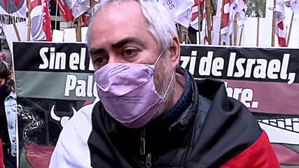 Argentina: Pro-Palestine protesters march to Israeli embassy in Buenos Aires