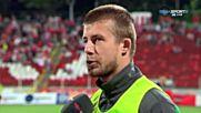 Мнението на Ангел Грънчов на полувремето между ЦСКА и Нефтохимик
