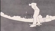 Skateboard Rotoscope Animation