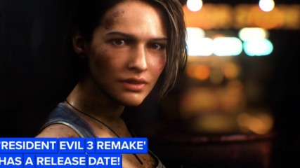 We finally have a release date for the remake of 'Resident Evil 3'