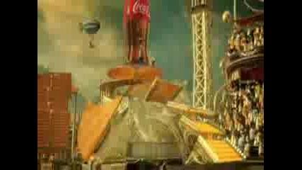 Завладяваща Анимация На Кока Кола - Фабрика на щастието