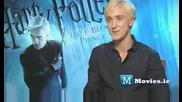 Драко Малфой(том Фелтон) говори за Хари Потър и Нечистокръвния принц