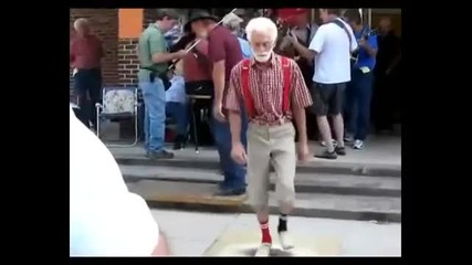 Granpa Shuffelin Dancin electro dubstep