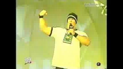Wwe - Cena Рапира На Brock Lesnar