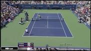 Nadal vs Dodig - Us Open 2013!