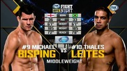 Michael Bisping vs Thales Leites (ufc Fight Night 72, 18.07.2015)