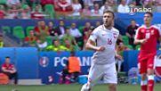Швейцария - Полша 1:1 (4:5 след дузпи)