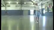 Невероятни трикове на баскетбол