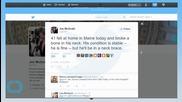 George HW Bush, Falls at Maine Home, Breaks Bone in Neck