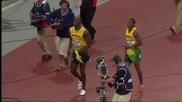 Финал 100 метра за мъже по лека атлетика - Олимпийски игри 2012