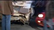 Top Gear - Караваната на Джеръми бива бутната в пропаст от Ричард и Джеймс ;d