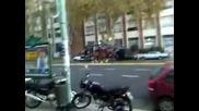 федерална полиция+линейка Боенос Аирес
