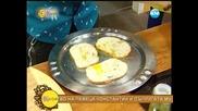 Рецептата днес- чипс от френски хляб с морски език - На кафе (01.07.2014г.)