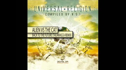 Alien Vs The Cat - Back To The Future (talamascarmx)
