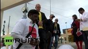 Switzerland: Protesters hammer FIFA over Qatar WC worker deaths