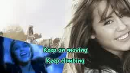 Miley Cyrus - The Climb [karaoke Instrumental]
