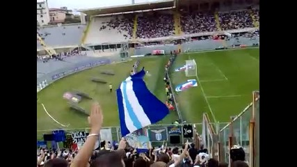 Avanti Ragazzi di Budapest - фенове на Лацио