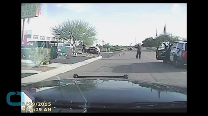 Dashcam Video Shows Arizona Officer Hitting Man With Car
